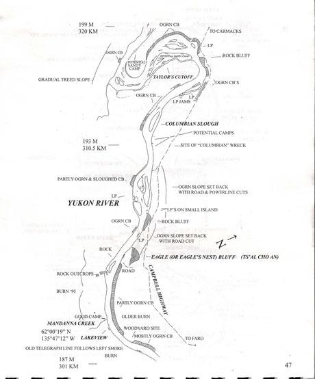 Mike Rourke - Marsh Lake to Dawson City (Beispiel)