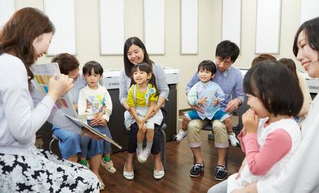 山西楽器店:スクール:音楽教室:3歳