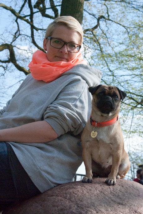 Janina Deuse, Janina Hoch 2, Hundetrainerin Hamburg