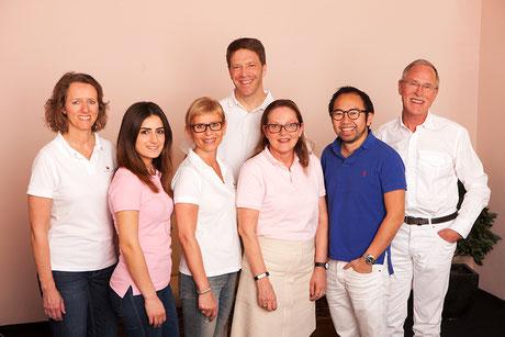 Das Team der Praxis für Neurologie und Psychiatrie im medicum