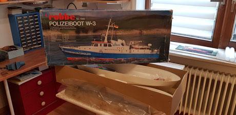 Baubericht Polizeiboot W-3