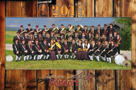 TMK Pöndorf Gruppenfoto 2015