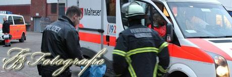 07.02.2013 - HH/Dulsberg: Angler fällt in Kanal