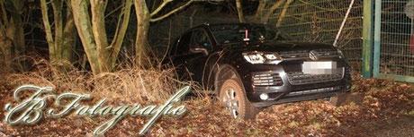 31.01.2013 - HH/Boberg: Mysteriöser Unfall mit Geländewagen