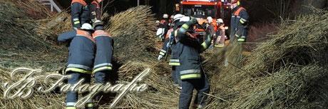 30.01.2013 - HH/Curslack: Scheune stürzt im Sturm ein