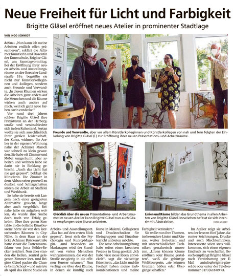 Achimer Kreisblatt vom 26.07.2021
