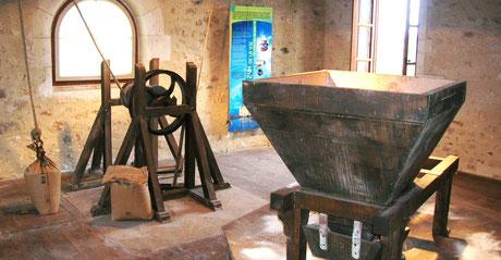 Mécanisme du moulin des Loges