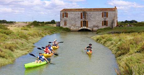 Activité Kayak au Moulin des Loges