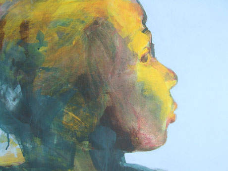 Eigene Malerei, Kopf Nr. 41