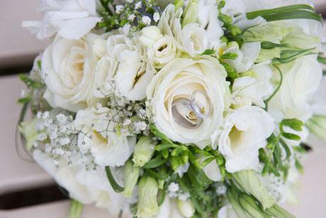 Nos bouquet de Mariage