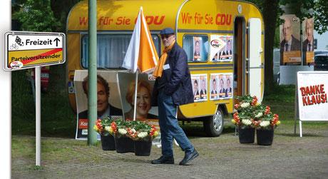 Nach über 40 Jahren zieht sich Klaus Plonka aus der aktiven politischen Arbeit zurück.