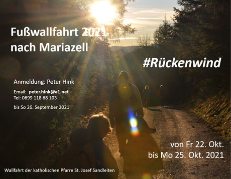Einladung zur Fußwallfahrt 2021 (PDF)