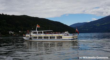 Donnerstag: Seerundfahrt am Millstätter See.