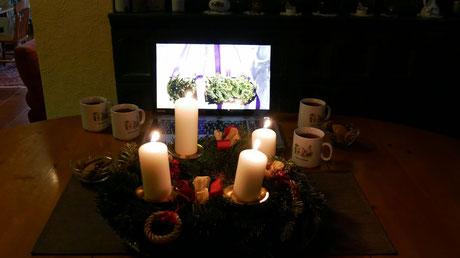 Das Youtube Video der Adventfeier ist am 19.Dezember ab 17:00 abrufbar.
