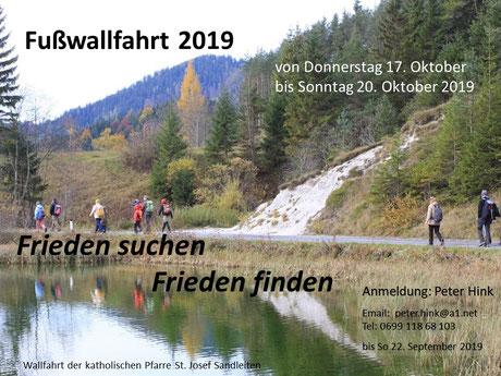 Einladung zur Fußwallfahrt 2019 (PDF)