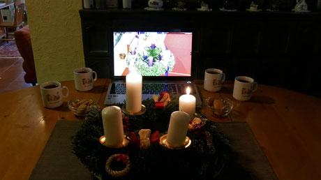 Das Youtube Video der Adventfeier ist am 5.Dezember ab 17:00 abrufbar.