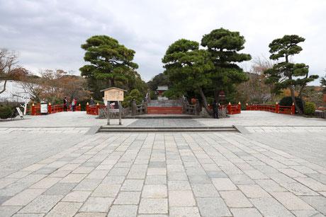 鶴岡八幡宮 出張撮影 七五三 冬