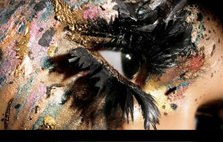 Maquillage artistiquen body painting, Lyon, atelier L, Laure Fraissinet