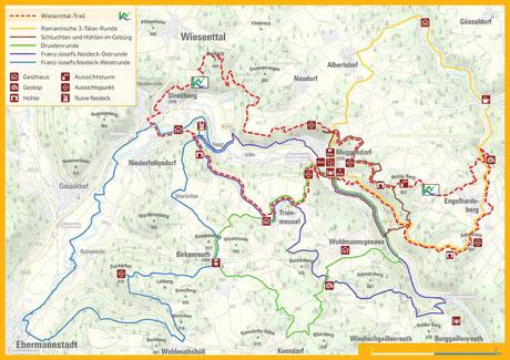 """Top-Touren """"Muggendorf im Gebürg"""" (im Flyer)"""