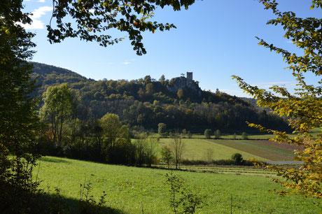 Burgruine Neideck ~ Namensgeber der Tour und Wahrzeichen der Fränkischen Scweiz