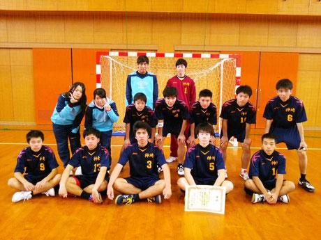 男子準優勝 神埼高校