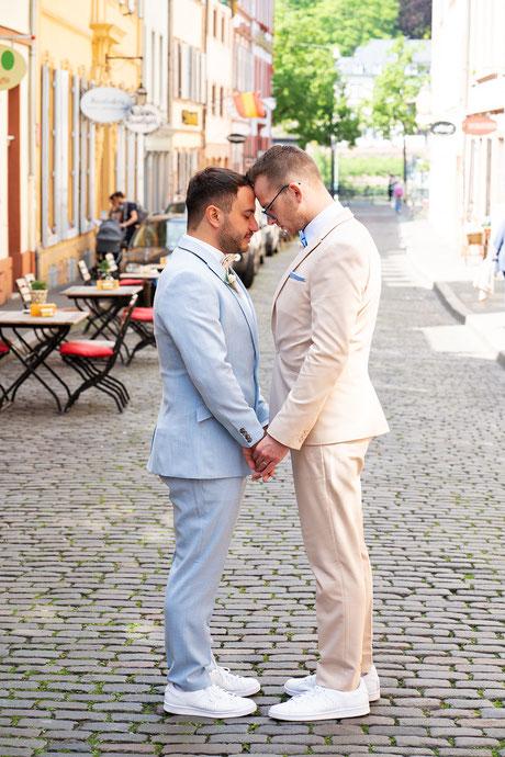 Heiraten in Heidelberg - eine inspirierende Geschichte über die Liebe zweier wundervoller Menschen. Eine Hochzeit im Moods Heidelberg. Foto: Wedding by Gerald / Gerald Hasani Fotografie