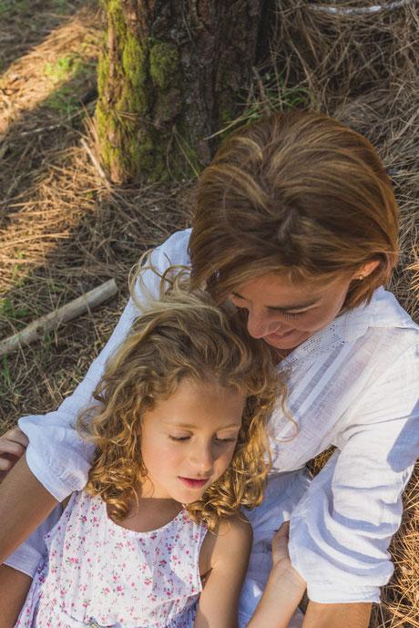 Fotografía de familia en La Esperanza, Tenerife