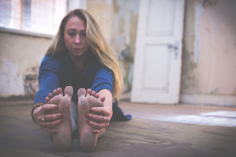 Yoga Pose Paschimottanasana Personal Yoga/Private Yoga Yoga auf Sylt