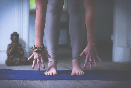 Yoga Pose Krieger/ Offene Yoga Klassen in Westerland auf Sylt