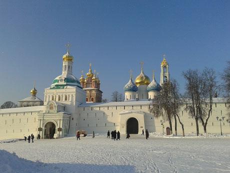 Свято-Троицкая Сергиева Лавра. Общий вид.