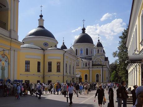 Москва. Покровский ставропигиальный женский монастырь. Здесь находятся мощи святой Матроны Московской.