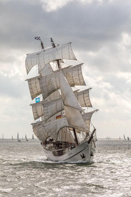 Artemis unter Segeln beim Wilhelmshaven-Sailing-Cup