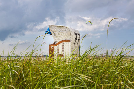 Strandkorb in Hooksiel