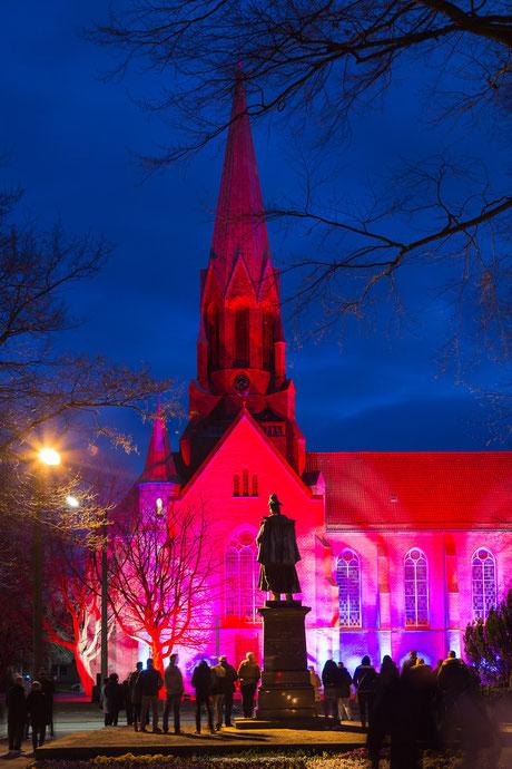 Wilhelm-Denkmal und Christus- und Garnisonkirche