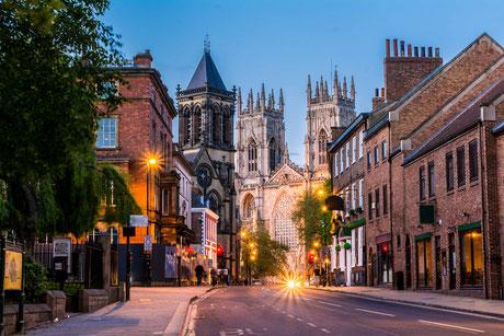 York mit Cathedrale