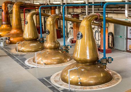 Spirit Stills einr Whisky Brennerei