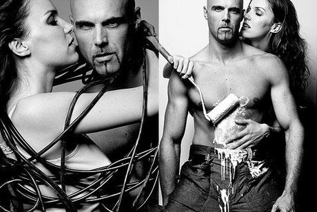 Erotische Paarfotos fotografiert der Aktfotograf in Hannover, Osnabrück und Düsseldorf
