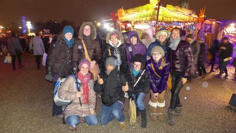 Frauentag auf dem Tollwood in München am 14.12.2013