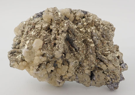 Pyrite and Galena