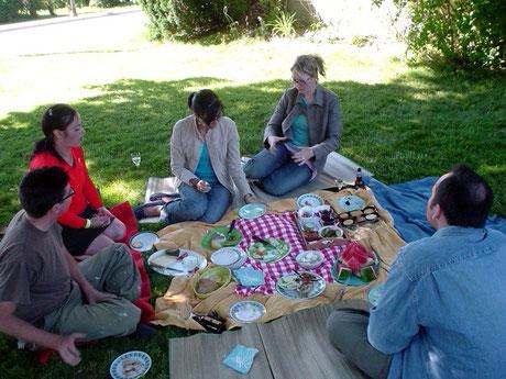 A picnic in Toronto, Canada