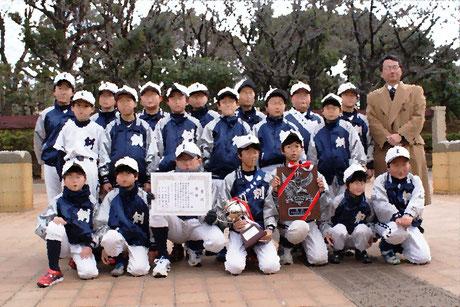 2014年駅伝大会優勝の集合写真です!