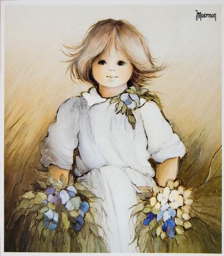 Jaklien Moerman Mädchenbild 80er Jahre