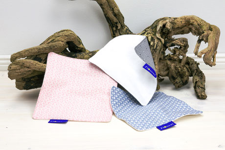 Knistertuch Babyspielzeug unterwegs Baumwolle