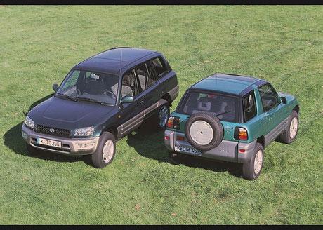 Mit der Einführung des ersten RAV4 im Jahr 1994 legte Toyota das Fundament für das heute so populäre Segment der Sports Utility Vehicles.