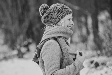 Outdoor – Portrait - Schwarz-Weiß