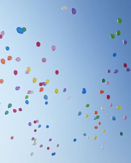卒業 卒園 バルーンリリース 風船とばし バルーンアート バルーンギフト 茨城県つくば市 土浦市 ユリシス