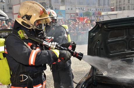 Feuerwehrfest am hof