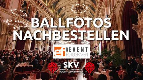 70. Wiener Feuerwehrball Ballfotos Nachbestellen