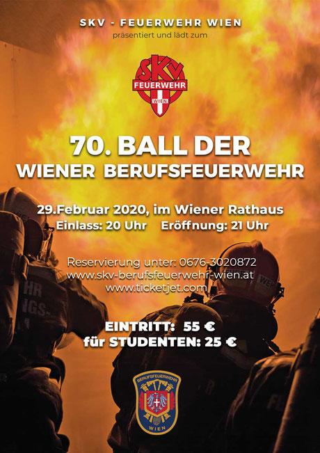 70. Ball der Wiener Berufsfeuerwehr
