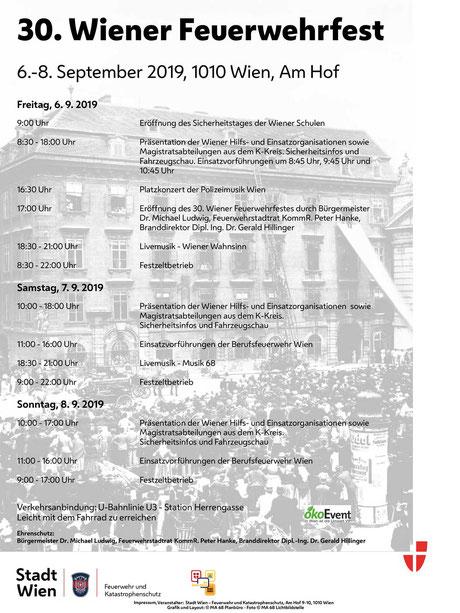 feuerwehrfest am hof 2019 programm